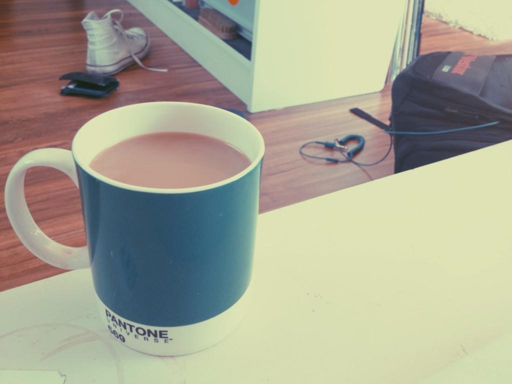 Pantone Kaffeetasse