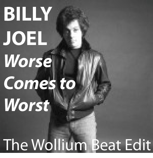 BILLY JOEL Worst comes to worth EDIT COVER