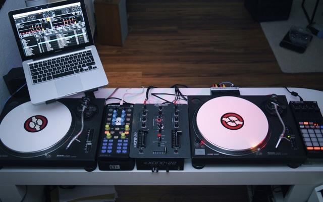 Bild von The Wolliums DJ Setup