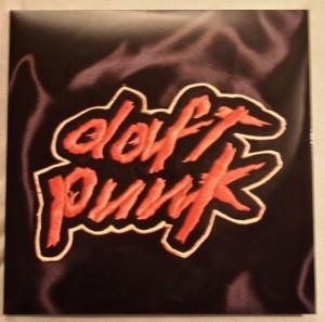 Bild von Daft Punks erstem Album Homework auf Vinyl