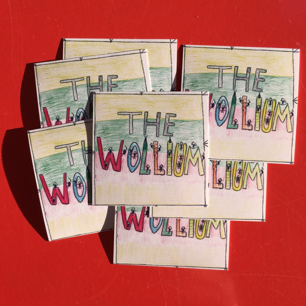 The Wollium Sticker