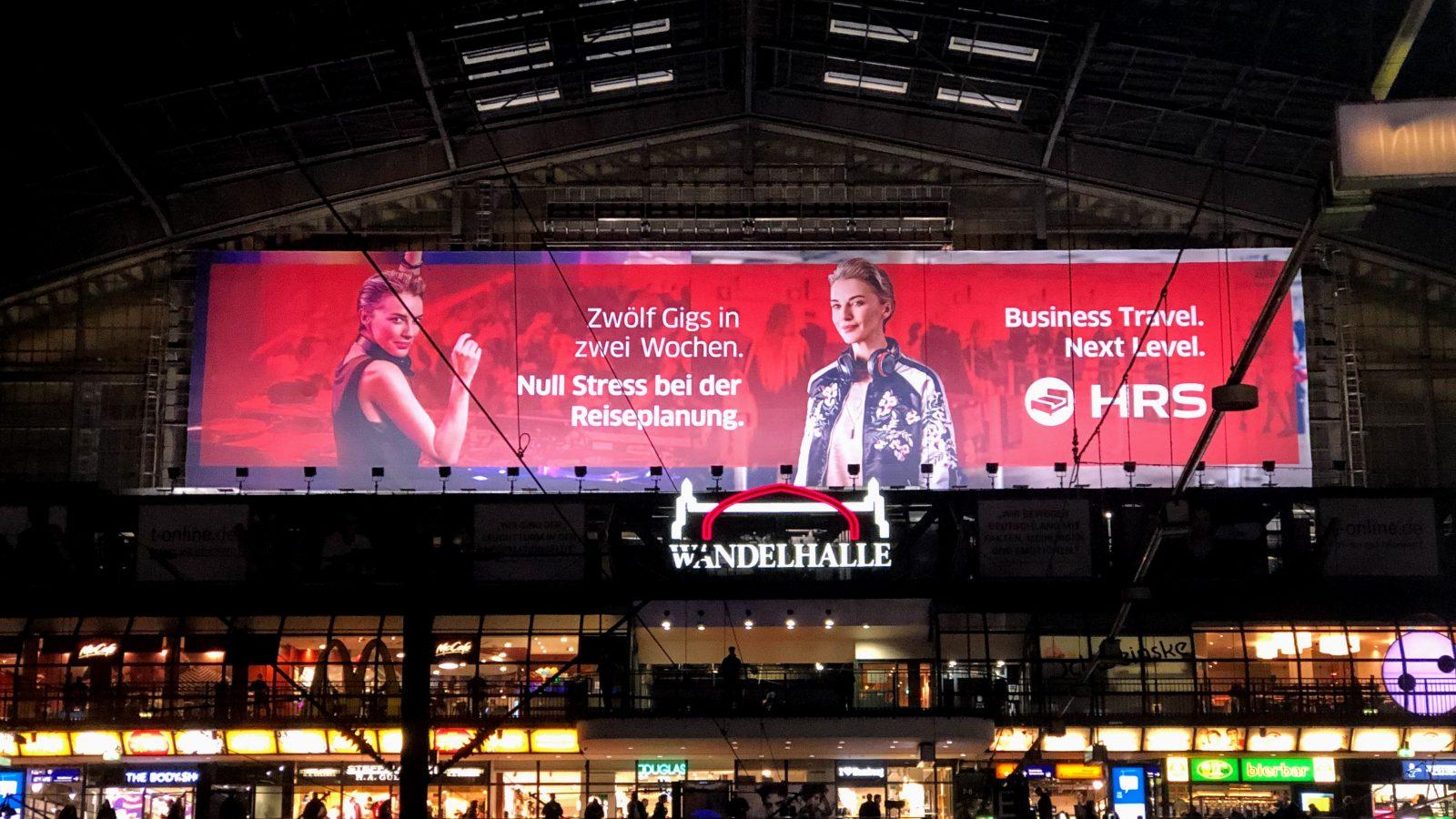 HRS DJ Werbung