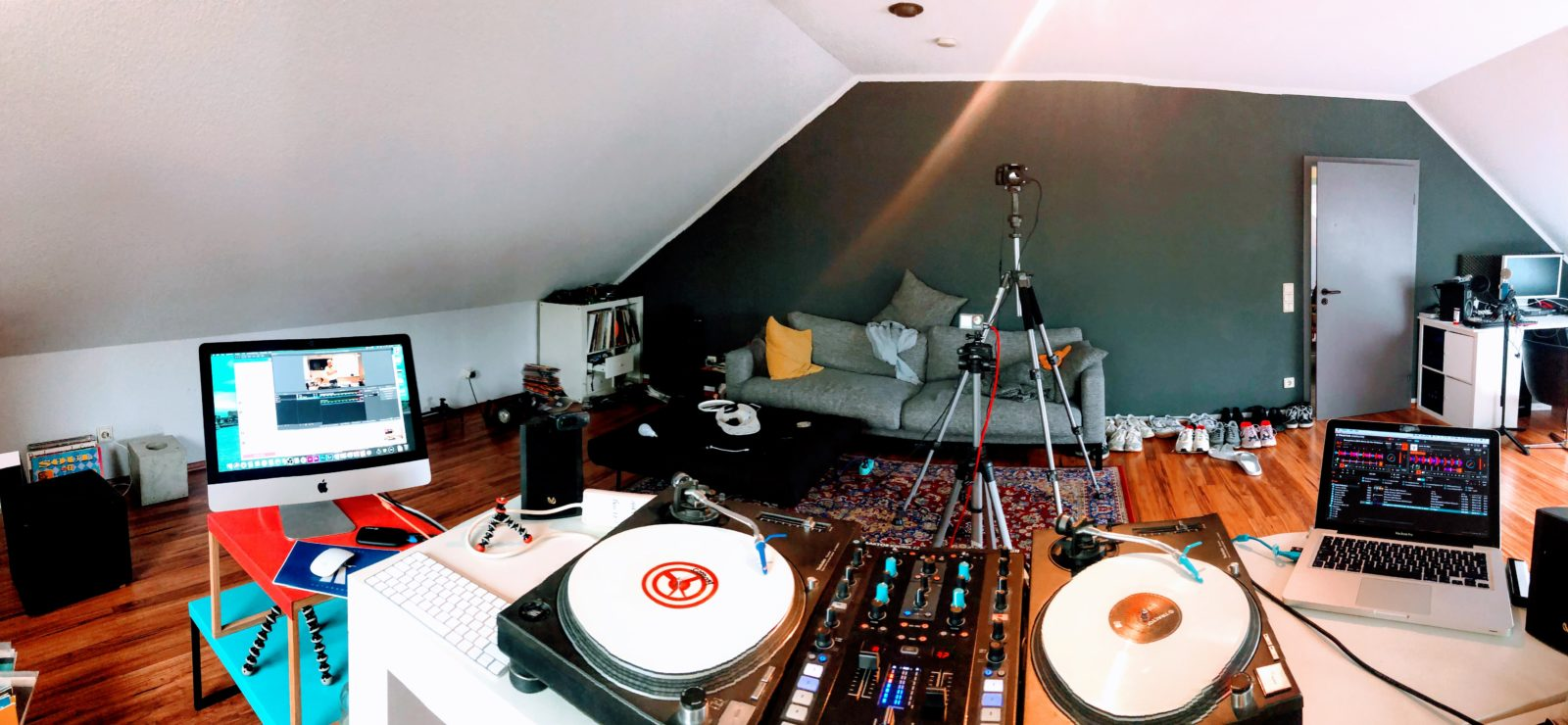 The Wollium streaming setup