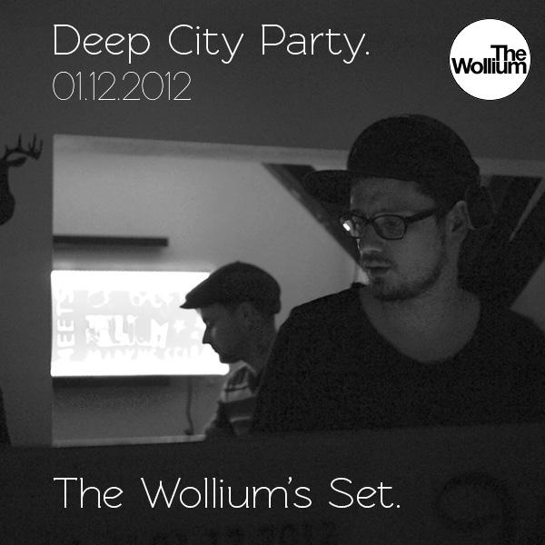 The Wollium auf der Deep City Party in Brilon am auflegen.