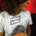 Paderborn Aufkleber auf T-Shirt. =)
