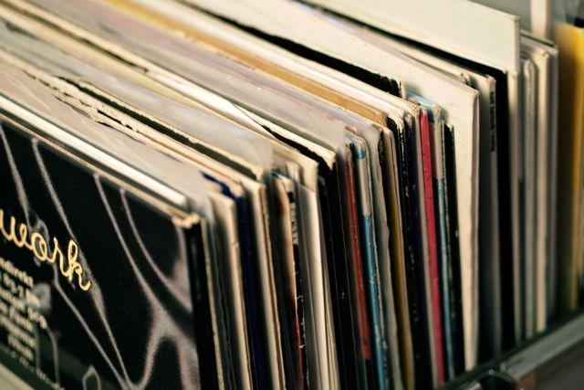 Platten von The Wollium im Plattencover